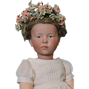 12 Inch K*R 101 Kammer and Reinhardt Marie Doll German Character c1910 Orig Wig