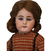 c.1890 17inch Closed Mouth German Child Simon & Halbig 949 German Bisque Doll
