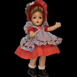 13 inch Alexander 1937 McGuffey Ana Compo. Doll All Original Tagged Dress Ex.Cond.
