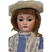 Antique Rare 20 inch German Bisque Doll Simon & Halbig 530 Sleep Eyes 1900 RARE doll