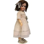 24.5 inch Antique Doll Jutta Bisque Simon & Halbig 1348 Bisque Child Doll circa 1910