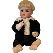 Antique 11 inch K*R Simon & Halbig 118/A 28 German Bisque Baby Boy Doll c.1900