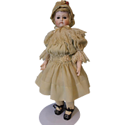 15.5 inch Antique Kestner Bru Closed mouth Doll on Antique Bru Body c.1880