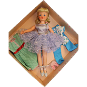 19 inch MINT in BOX Horsman Cindy Ballerina doll Cissy wannabee 1957 Original Tags