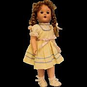 Vintage 18 inch Hard Plastic Saucy Walker Wannabee Doll in Original Box