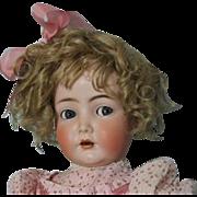 27 inch K*R Simon Halbig 117n  Flirty Eye doll German character Mein Liebling 1916
