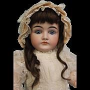 25 Inch Antique Closed Mouth Pouty Kestner Doll k 14 German Blue Sleep Eyes 1900