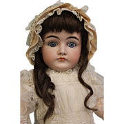 25 Inch Antique Closed Mouth Pouty Kestner Doll k 14 German Blue Sleep Eyes 1900