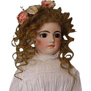 22 inch Antique Doll Kling Fashion Lady 162 German Bisque Circa 1890 Very Pretty