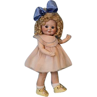 12.5 inch Antique German Bisque Armand Marseille 323 Googly Toddler Character Doll