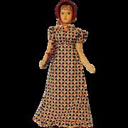 10 inch Helen Bullard wood artist doll Mary Ann A Country Girl Tagged Holly Dolls