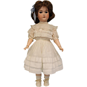 22 inch German Bisque CM Bergmann Blue SL Eyes Antique Dress Unders.shoes,socks