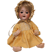 10 inch K * R 126 Kestner Baby w. bent limbs Tremble Tongue, Teeth Adorably Dressed