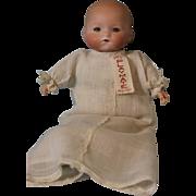 Antique 11 Inch Armand Marseille Kiddiejoy Doll Original Outfit Sleep Eyes c1900
