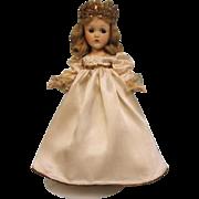 14 Inch Composition Princess Elizabeth Doll Madame Alexander c.1937 Tagged