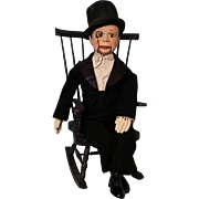 19 inch Charlie McCarthy ventriloquist From Jane Withers Collection Pristine Cond.!!