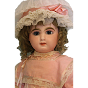 24 inch Bebe Mascotte Closed mouth PW blue eyes May Freres in 1890, Paris, France
