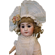 16 inch Antique 949 Simon Halbig German Bisque Doll Solid Dome Closed Mouth BEAUTY!!