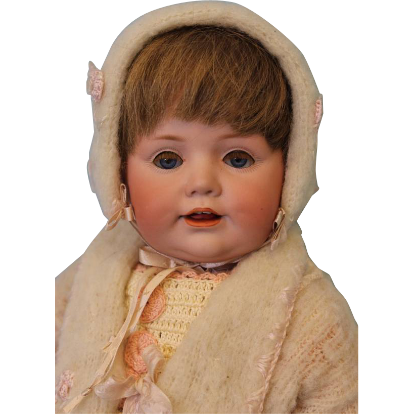 17 inch JDK 247 Hilda's Sister Antique Character Doll BY KESTNER c1910 Just Darling