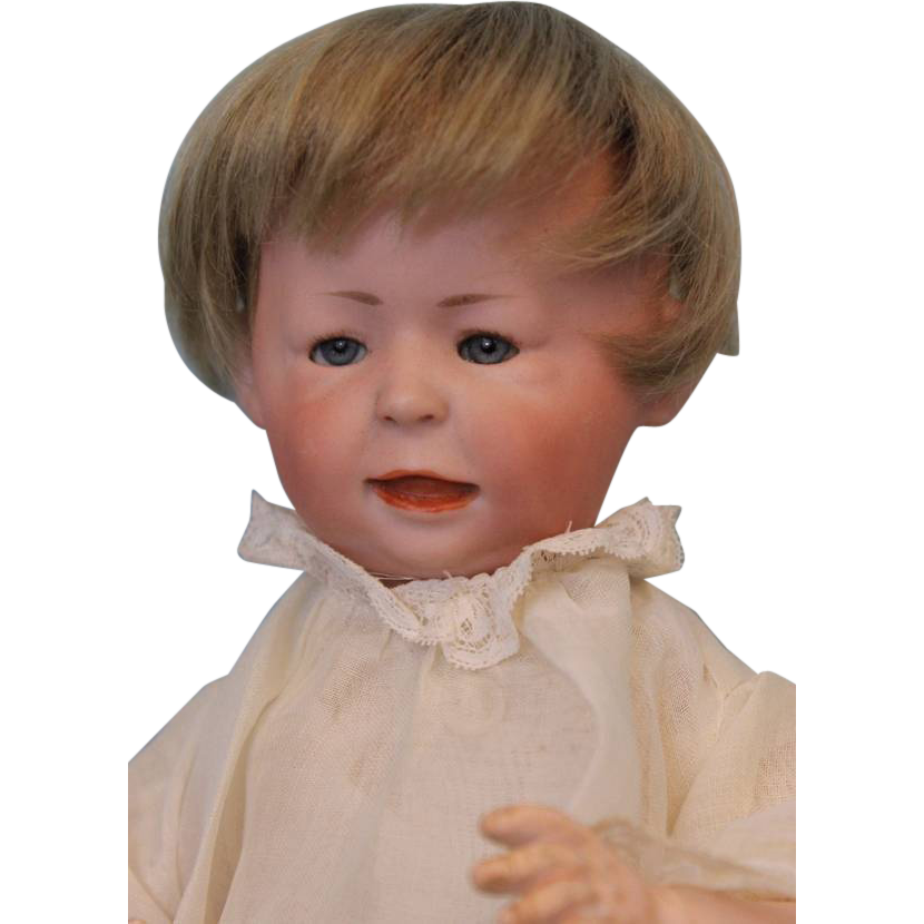 11 inch Early Doll c1914 SIMON HALBIG Character number 1428 FREDDIE Slant Hip Toddler