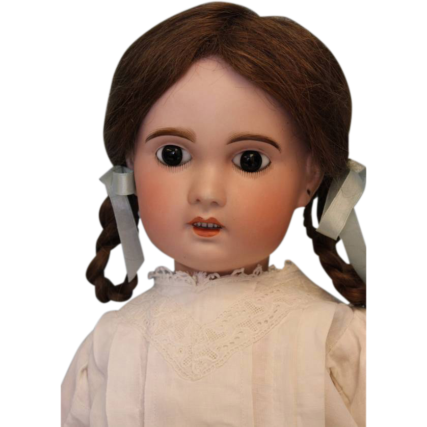 Antique 23 inch SFBJ Paris 11 French Bisque Doll c.1900 Beautifully dressed