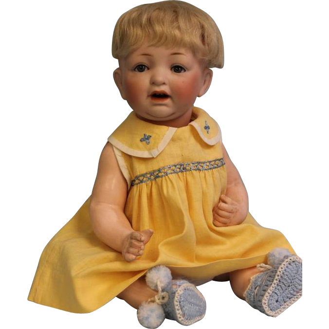 13 inch Kestner JDK 226 Character Baby Doll Sweet Expression Nice Size