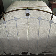 Victorian White-on-White Wedding Quilt