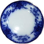 "English Flow Blue 10 3/8"" Grimwades ""Nancy"" Plate"