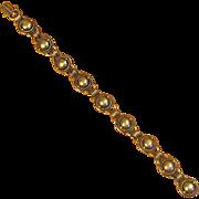 Vintage 830 Silver Denmark Link Bracelet
