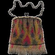 "Vintage Germany ""Dresden Mesh"" Lady's Handbag"