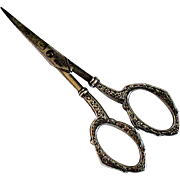 Small Scissors with Sterling Silver Handles