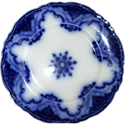 "English Flow Blue Meakin ""Cambridge"" 10"" Plate"