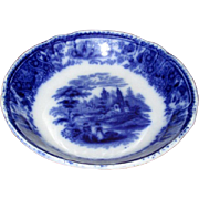"English Flow Blue ""Nonpareil"" Fruit Bowl"