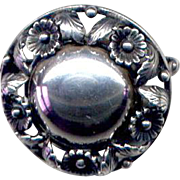 Sterling Denmark N. E. From Brooch