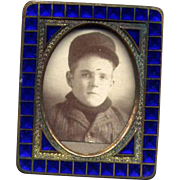 Small Vintage Czech Tabletop Picture Frame