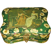 Victorian Figural Celluloid Vanity Box