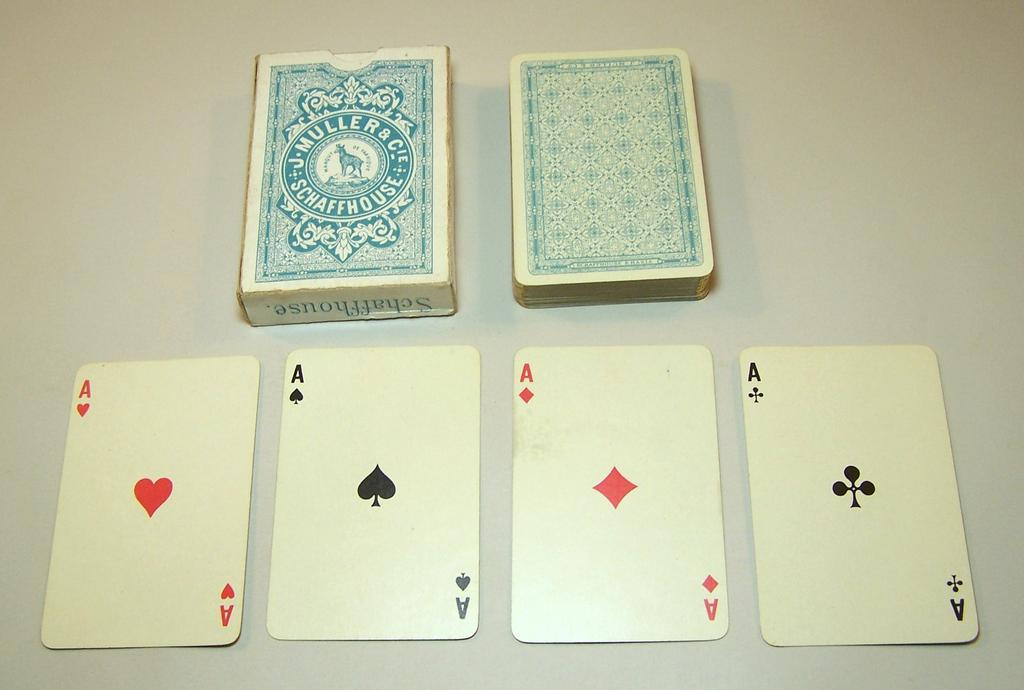 "J. Muller & Cie ""Whist No.27"" Playing Cards, c.1910"