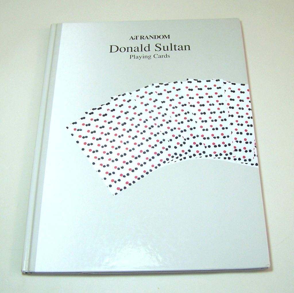 "Mamet & Jay, ""Donald Sultan Playing Cards,"" Kyoto Shoin Intenational (Publ.), 1989"