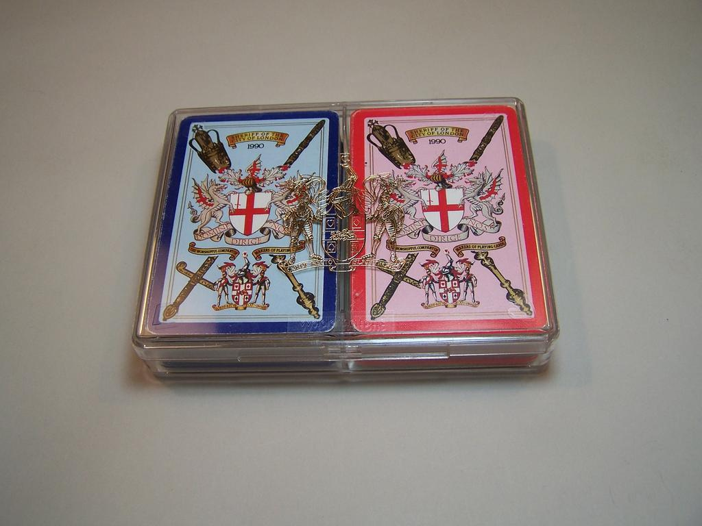 "Double Deck Worshipful Company Playing Cards, ""Sheriff of London 1990"""