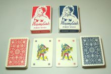 "Twin Decks Piatnik (Hungary) ""151 Poker Whist"" Playing Cards, Dutch/Flemish Pattern (for Denmark/Sweden), c.1950"