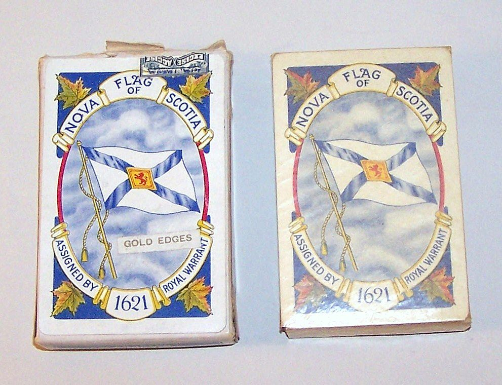 "Canadian Playing Cards, ""Colonial Bridge"" Joker/Ace, Nova Scotia Tricentennial, c.1925"