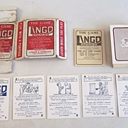 "Atkins & Company ""Lingo Spanish"" Card Game, Centaphrase Society Copyright, c.1916"