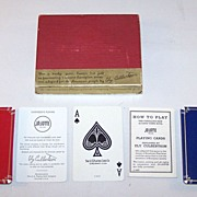 "USPC ""Jo-Jotte"" Card Game, Ely Culbertson Invention, c.1937"