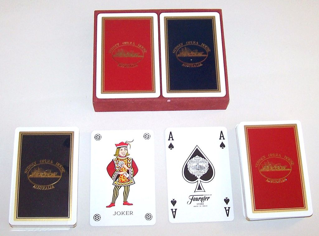 "Double Deck Fournier ""Sydney Opera House"" Playing Cards, c.1980s"