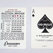 "A. Dougherty ""Radbridge"" Playing Cards, c.1927"