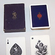 "Goodall (De La Rue) ""Cunard Line"" Maritime Playing Cards, c.1925"