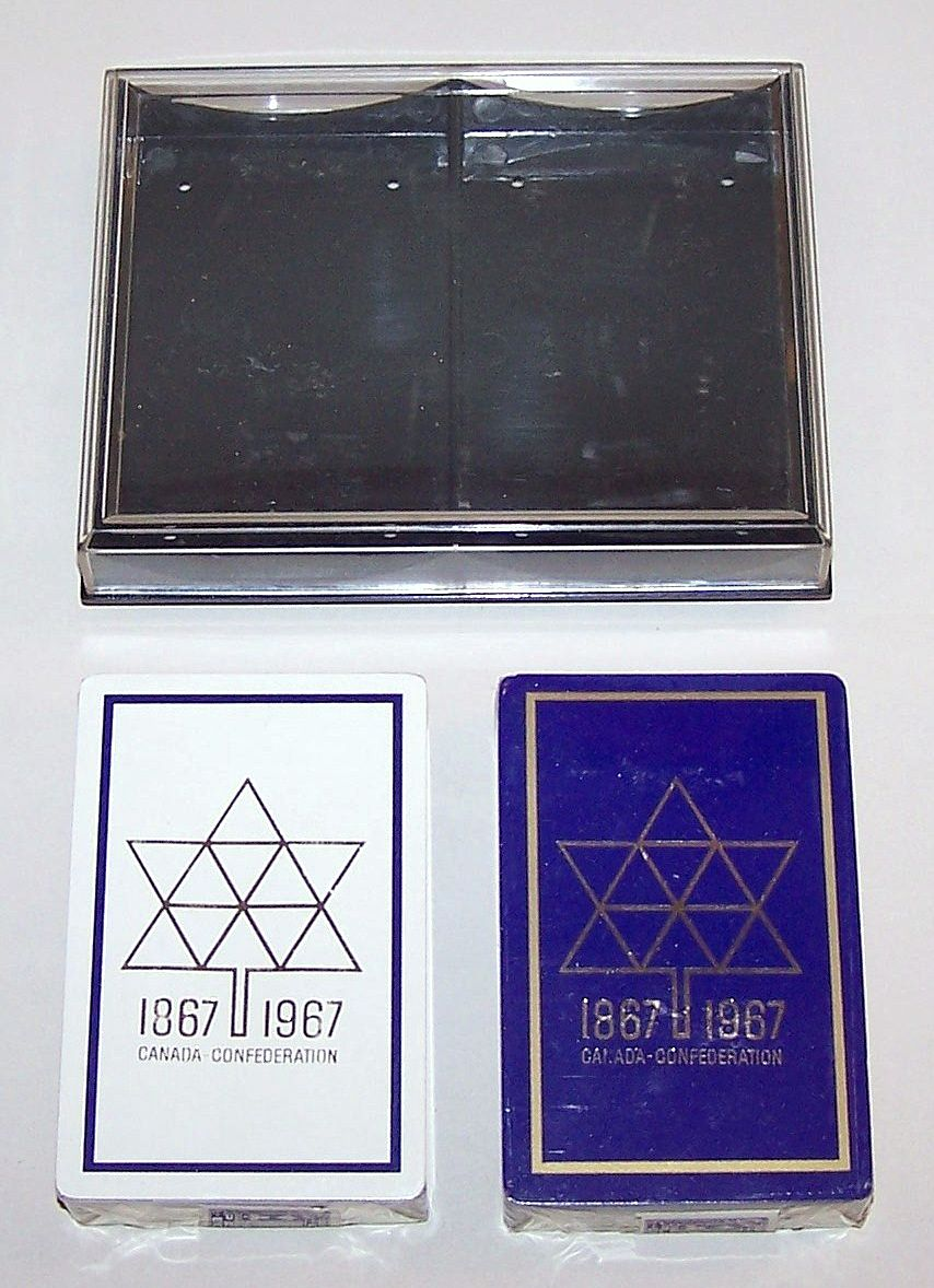 "Double Deck Arrco ""Canada Confederation Centennial"" Playing Cards, c.1967"