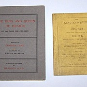 "Charles Lamb ""The King and Queen of Hearts,"" Methuen & Co. Edition w/ Separately Bound Introduction by F.V. Lucas, William Mulready Illustrations, c.1902"