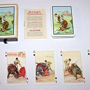 "Fournier ""Baraja Taurina"" (Bullfighting) Playing Cards, Martinez de Leon Designs, c.1951"