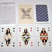 "Bielefelder ""Management by Cards"" Skat Playing Cards, For ""VA – Akademie fur Führen und Verkaufen,"" Ackermann and Bonne Designs, c.1976"